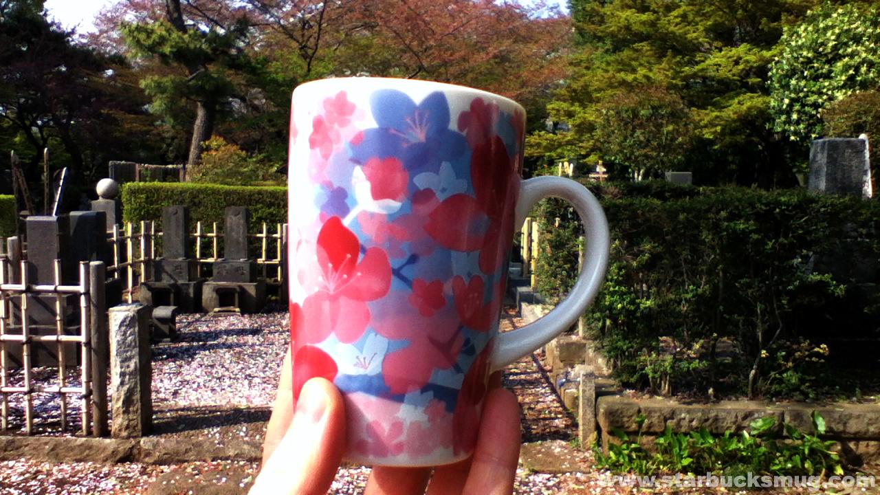 Japanese Starbucks 2012 Sakura Mug